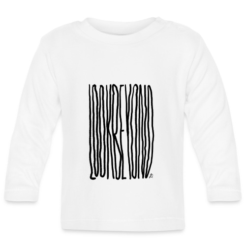 Look Beyond - Langærmet babyshirt
