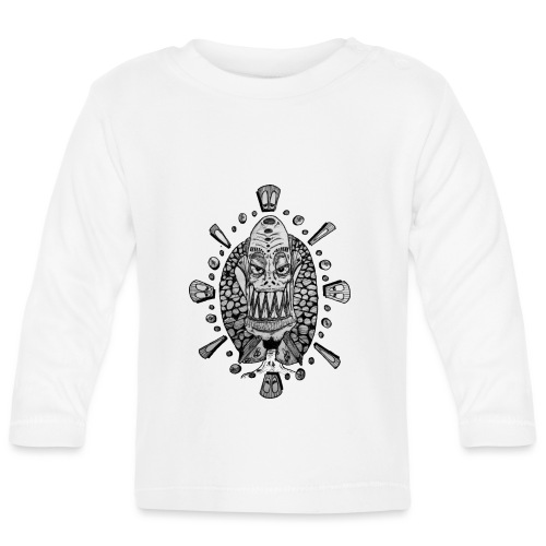Dib Dabs and Monsters - Baby Long Sleeve T-Shirt