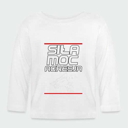 Damska Koszulka Premium TheWolf - Koszulka niemowlęca z długim rękawem
