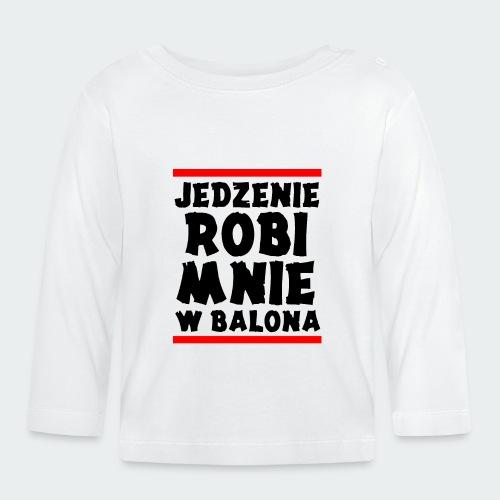 Damska Koszulka Premium JRBWB - Koszulka niemowlęca z długim rękawem