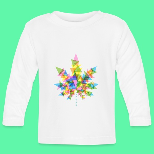 Mary Jane multi - Langærmet babyshirt