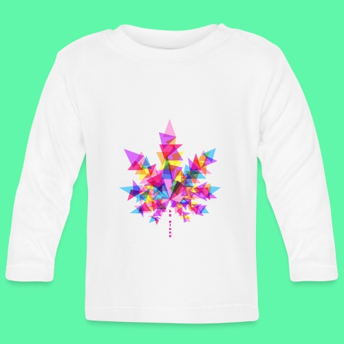 Mary Jane pink - Langærmet babyshirt