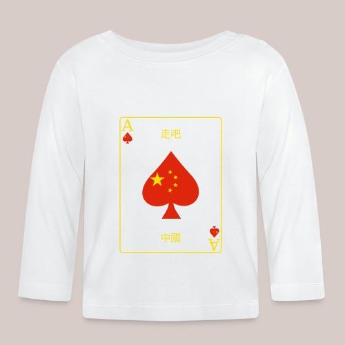 China - Baby Langarmshirt