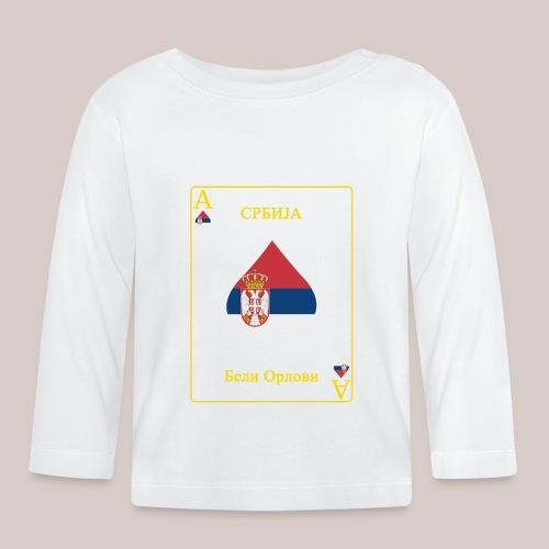 Serbien - Baby Langarmshirt