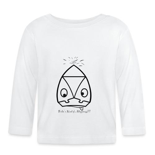 Happiness - Maglietta a manica lunga per bambini