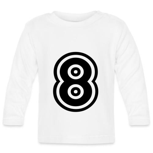cool number 8 - T-shirt