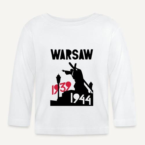 Warsaw 1939-1944 - Koszulka niemowlęca z długim rękawem
