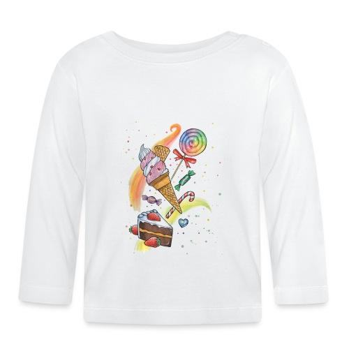 Sweets Watercolors Nadia Luongo - Maglietta a manica lunga per bambini
