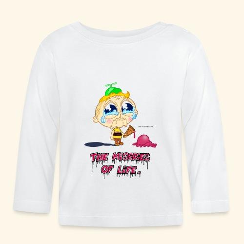 The Miseries of Life Eiscreme Eis Kind - Baby Langarmshirt