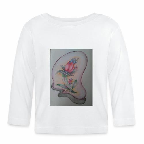 fiore magico - Maglietta a manica lunga per bambini