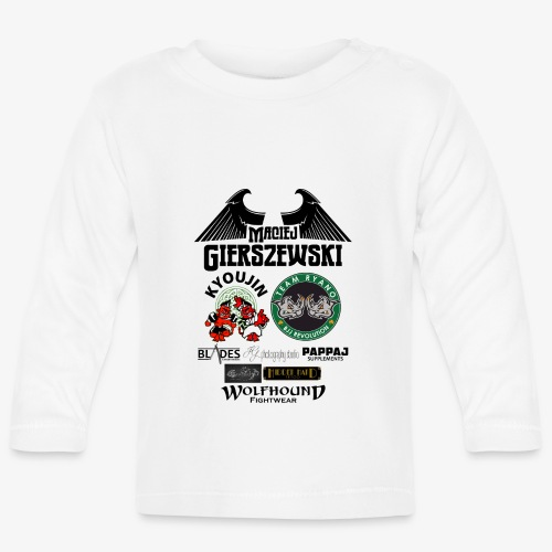 MACIEJ BACK png - Baby Long Sleeve T-Shirt