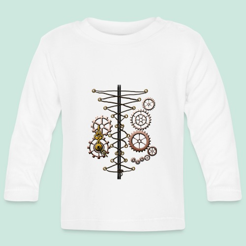 corset and cogs - Baby Long Sleeve T-Shirt