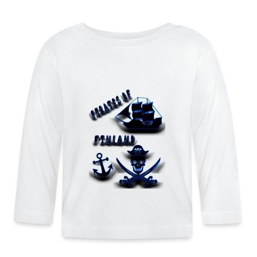Pirates - Vauvan pitkähihainen paita