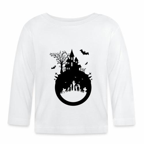 Halloween Design - Das Spukhaus - Baby Langarmshirt