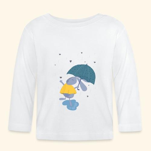 happy in the rain - Baby Long Sleeve T-Shirt