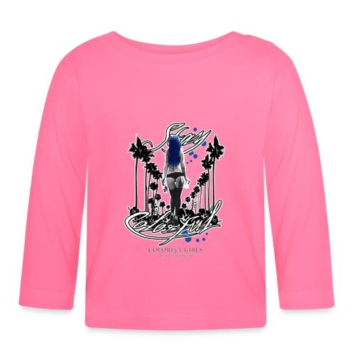 Carina Colorful 1 - Baby Langarmshirt