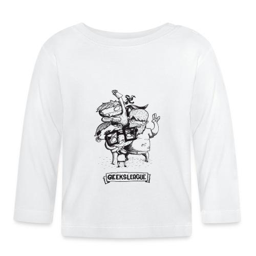 Illu Geeksleague - T-shirt manches longues Bébé