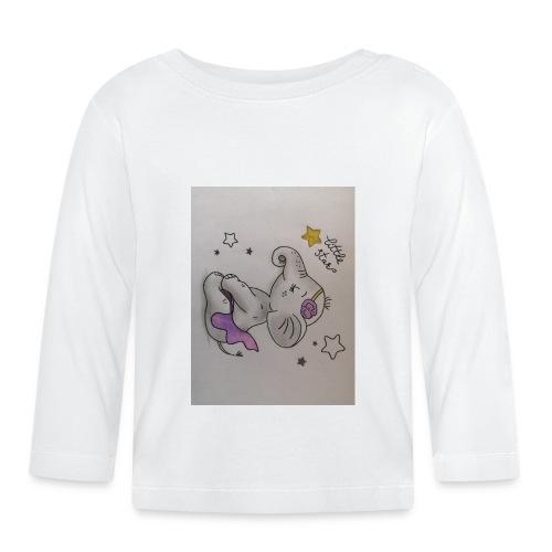 Animaux rigolos pour un Body Bio personnalisé - T-shirt manches longues Bébé