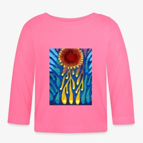 Chore Słońce - Koszulka niemowlęca z długim rękawem