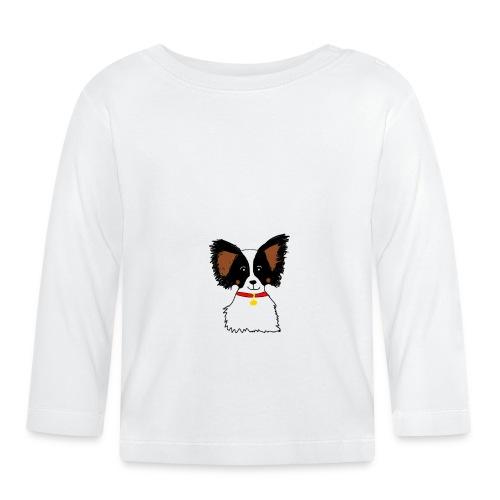 Papillon dog - Baby Long Sleeve T-Shirt