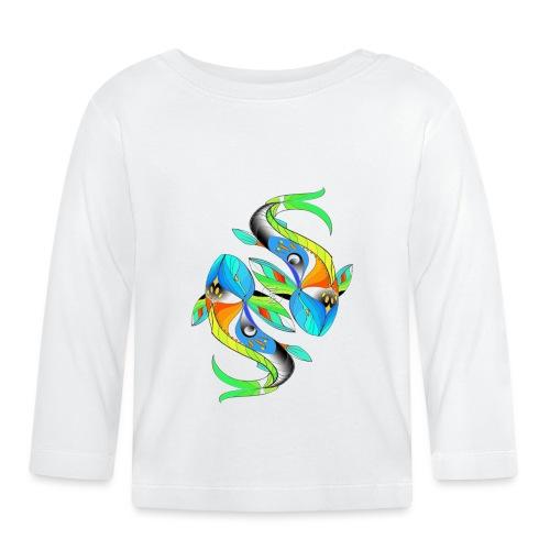 Regenbogenfische - Baby Langarmshirt