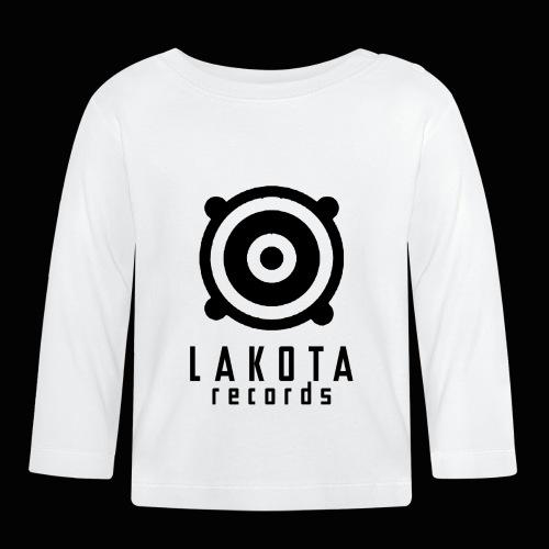 LAKOTA Logo black - Baby Langarmshirt