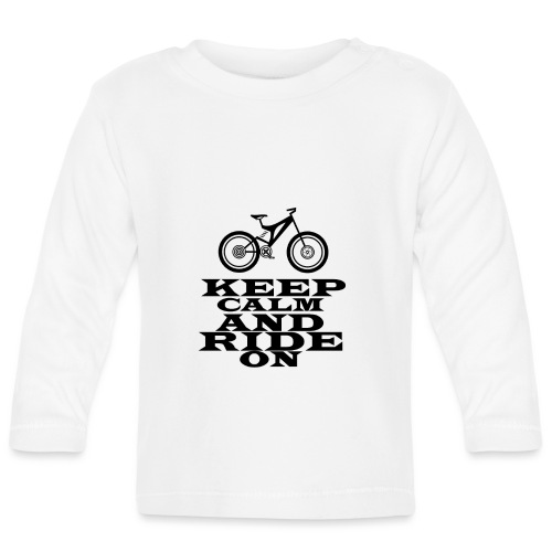 Bike - Baby Langarmshirt