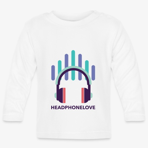 headphonelove - Baby Langarmshirt