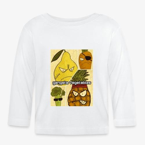 Gangsta Vegetables - T-shirt manches longues Bébé