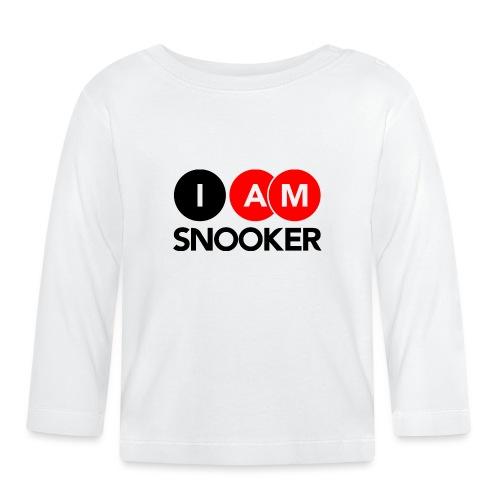 I AM SNOOKER - Baby Long Sleeve T-Shirt