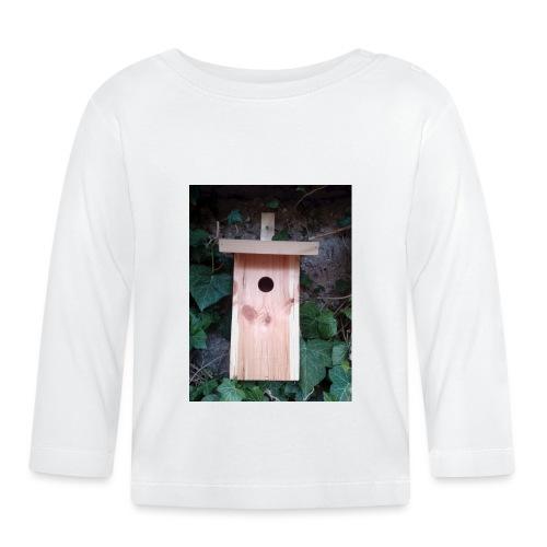 Der Nistkasten - Luxus für den Garten-Vogel - Baby Langarmshirt