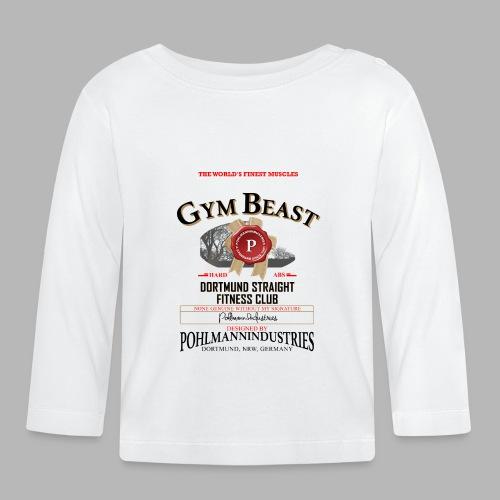 GYM BEAST - Baby Langarmshirt