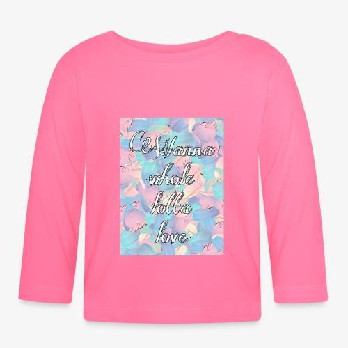 Wanna whole lotta love - Maglietta a manica lunga per bambini