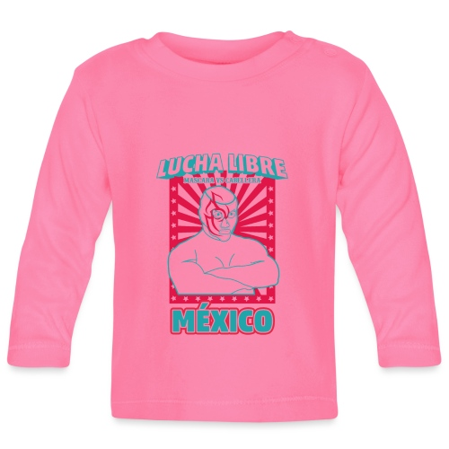 Lucha Libre Mexico 3 - Camiseta manga larga bebé