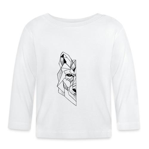 Geo-Wolf - Langærmet babyshirt