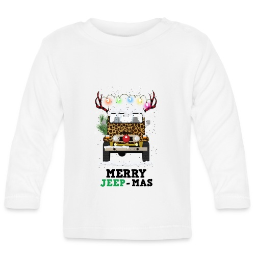Merry Jeep Mas - Baby Long Sleeve T-Shirt