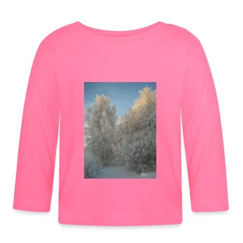 Talviset puut - Vauvan pitkähihainen paita
