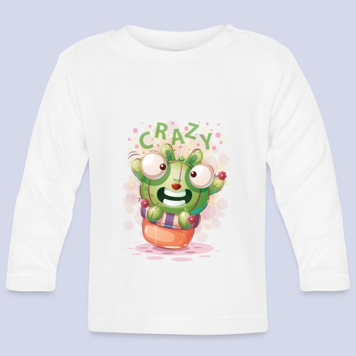 Crazy funny monster design for everyone - Baby Long Sleeve T-Shirt