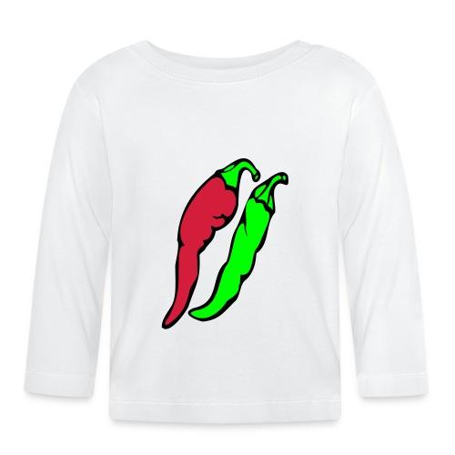 Chilli - Koszulka niemowlęca z długim rękawem