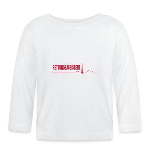Rettungsassistent - Baby Langarmshirt