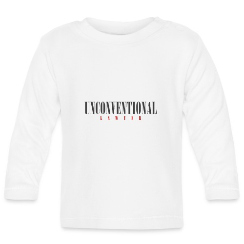 Unconventional Lawyer - T-shirt per avvocati (men) - Baby Long Sleeve T-Shirt