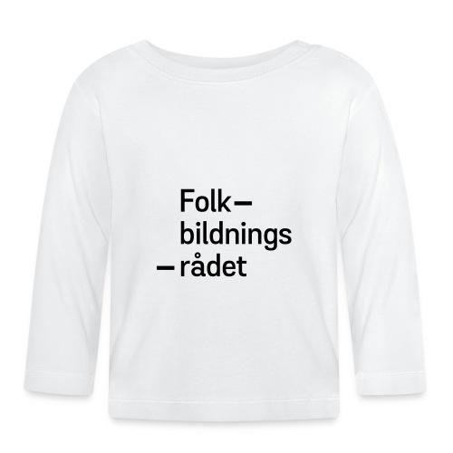 fbr_logo_SV - Långärmad T-shirt baby