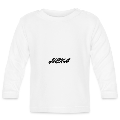 HexaDesignBlackLogo - Baby Long Sleeve T-Shirt