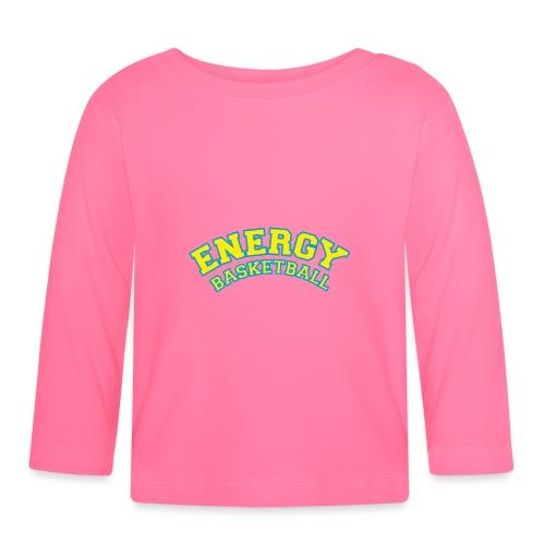 eco logo energy basketball giallo - Maglietta a manica lunga per bambini