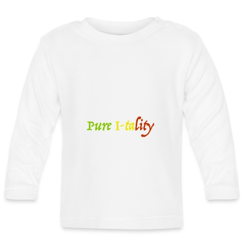 Pure I-tality - Baby Long Sleeve T-Shirt