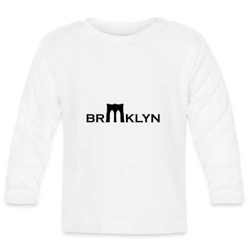 brooklyn bridge - T-shirt manches longues Bébé