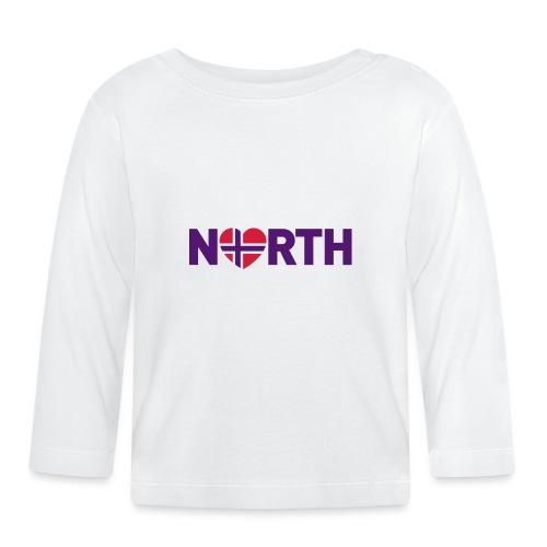 Nord-Norge på engelsk - plagget.no - Langarmet baby-T-skjorte