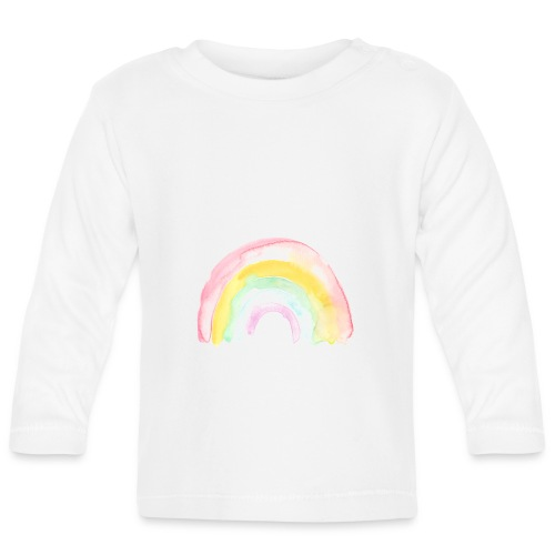 Pastell Rainbow - Baby Langarmshirt
