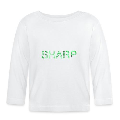 Sharp Clan black hoodie - Baby Long Sleeve T-Shirt