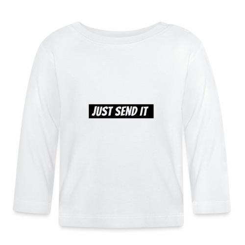 just send it logo - Baby Long Sleeve T-Shirt